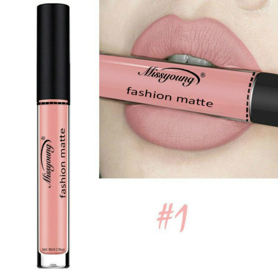 Sexy Brown Pink Matte Lip Stick Lipliner Lip Liner Pencil Matt Nude Lipsliner Pen Set Beauty Makeup Tool Cosmetic Sexy Girl MSG1 (4298368090221)