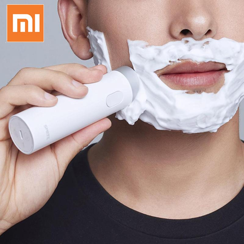 Original Xiaomi Smate Turbine Razor Electric Shaver Men's Rechargeable Beard Trimmer Electric Razor with Charging Indicator (4319309758573)