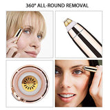 Portable Electric Painless Eyebrow Epilator Trimmer For Women Lipstick Eye Brow Epilator Pen Face Hair Remover Shaver Razor (4321548632173)