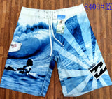 (កម្មង់មុន)-Men Summer Casual Shorts Men Brand New Board Shorts 2019 WaterProof Beach Breathable Elastic Waist Fashion Casual Short Male (4298237116525)
