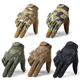 Tactical Military Gloves Army Paintball Shooting Airsoft Combat Bicycle Rubber Protective Anti-Skid Full Finger Glove Men Women (4319391219821)