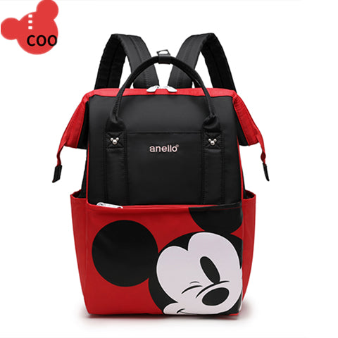 Disney Mickey shoulder Mummy package large capacity schoolbags Oxford waterproof  (4520817492077)
