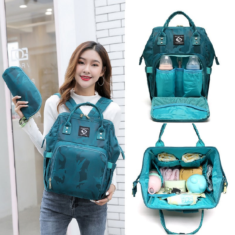 Multifunctional mother bag large capacity backpack (4520700280941)