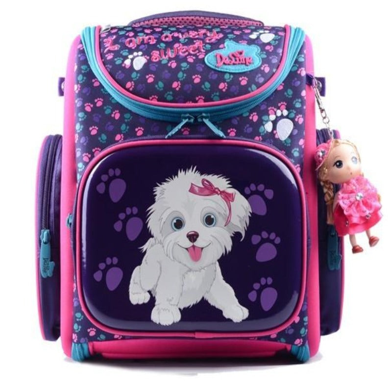 Genuine Delune primary care burdens schoolbag (4520866545773)