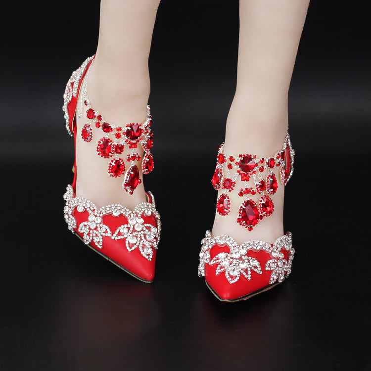 Hight heels for wedding shoes bridal shoes