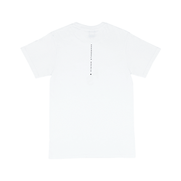 Higher Standards T-Shirt - Circle Logo - Glasss Station