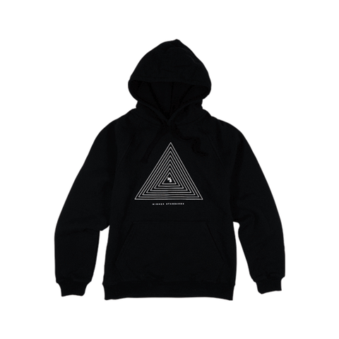 Higher Standards Hoodie - Concentric Triangle - Glasss Station