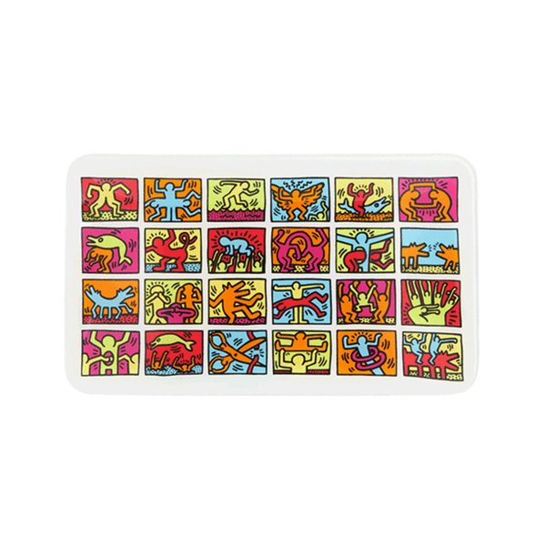 K.Haring Tray - Glasss Station