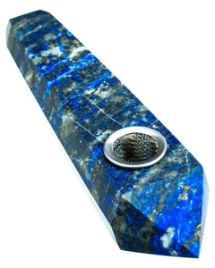 High Life Lapis Lazuli Quartz Stone Pipe - Glasss Station