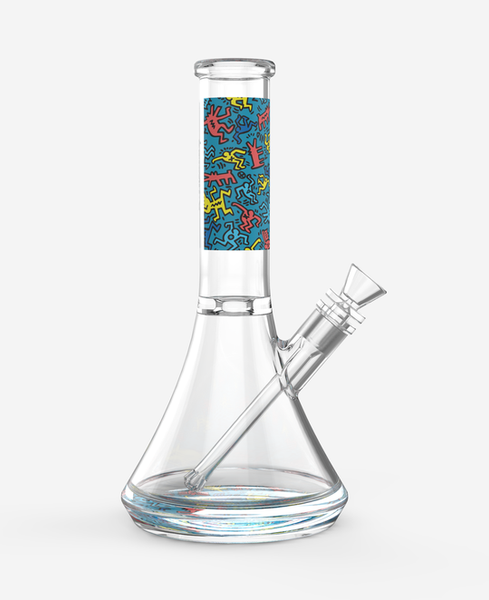 K.Haring Water Pipe - Glasss Station