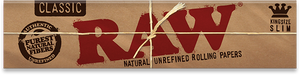 Raw King Size Slim Rolling Papers - Glasss Station