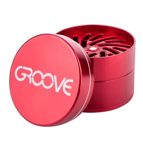 Groove 4-Piece Grinder - Glasss Station