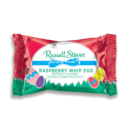 Russell Stover Dark Chocolate Raspberry Whip Egg, 1 oz