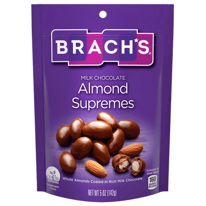 Brach's Chocolate Creations Milk Chocolate Almond Supremes, 5oz. Bag