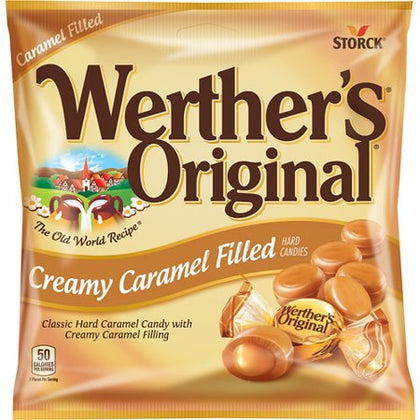 Werther's Original Creamy Caramel Filled Hard Candies, 5.5oz