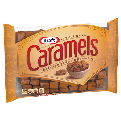 Kraft Caramels Individually Wrapped Candy, 11 oz Bag