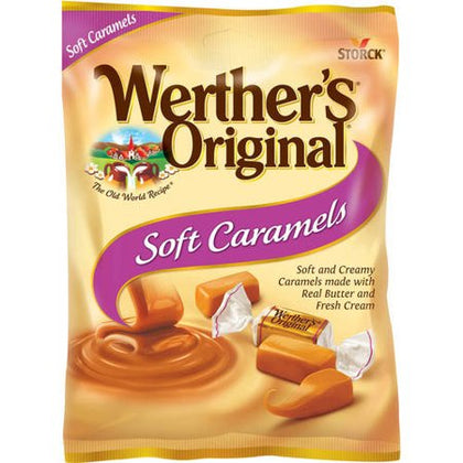 Werther's Original Soft Caramel Candies, 4.51 Oz