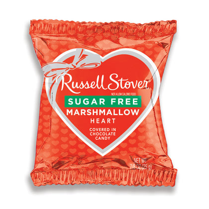 Russell Stover Valentine's Sugar Free Marshmallow Heart, 0.875 oz.