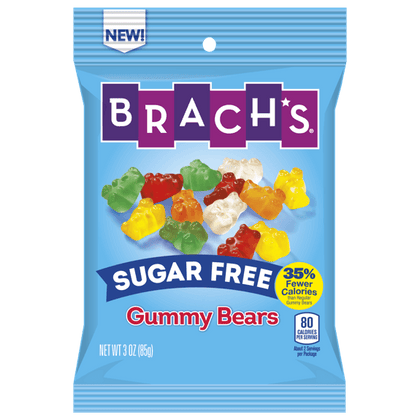 Brach's Gummy Bears, Sugar Free, 3oz