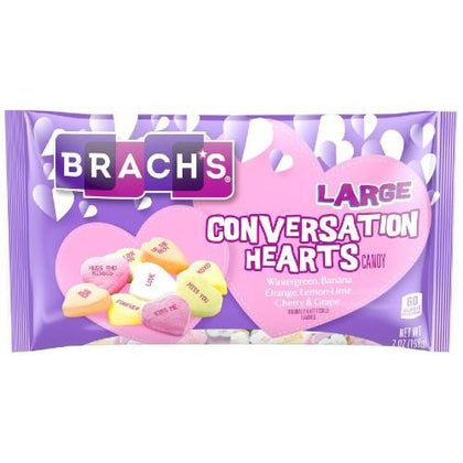 Brach's Large Conversation Hearts, 7oz