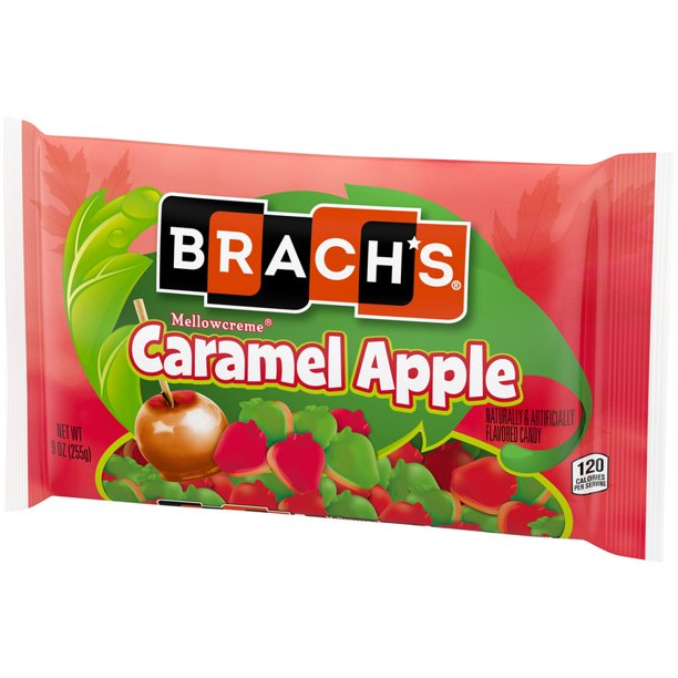 Brach's Mellowcreme Caramel Apple Candy Corn, 9oz