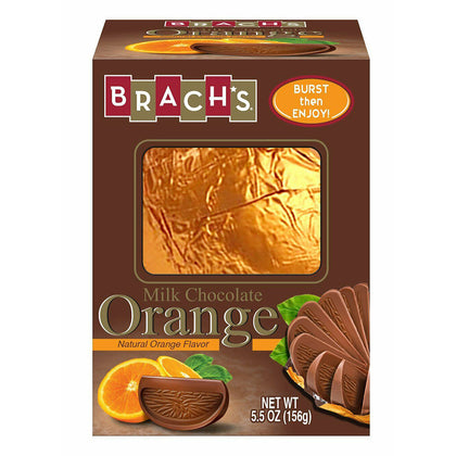 Brach's Milk Chocolate Orange Ball, 5.5 Oz