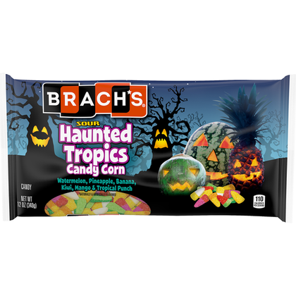 Brach's Sour Haunted Tropics Candy Corn, 12oz