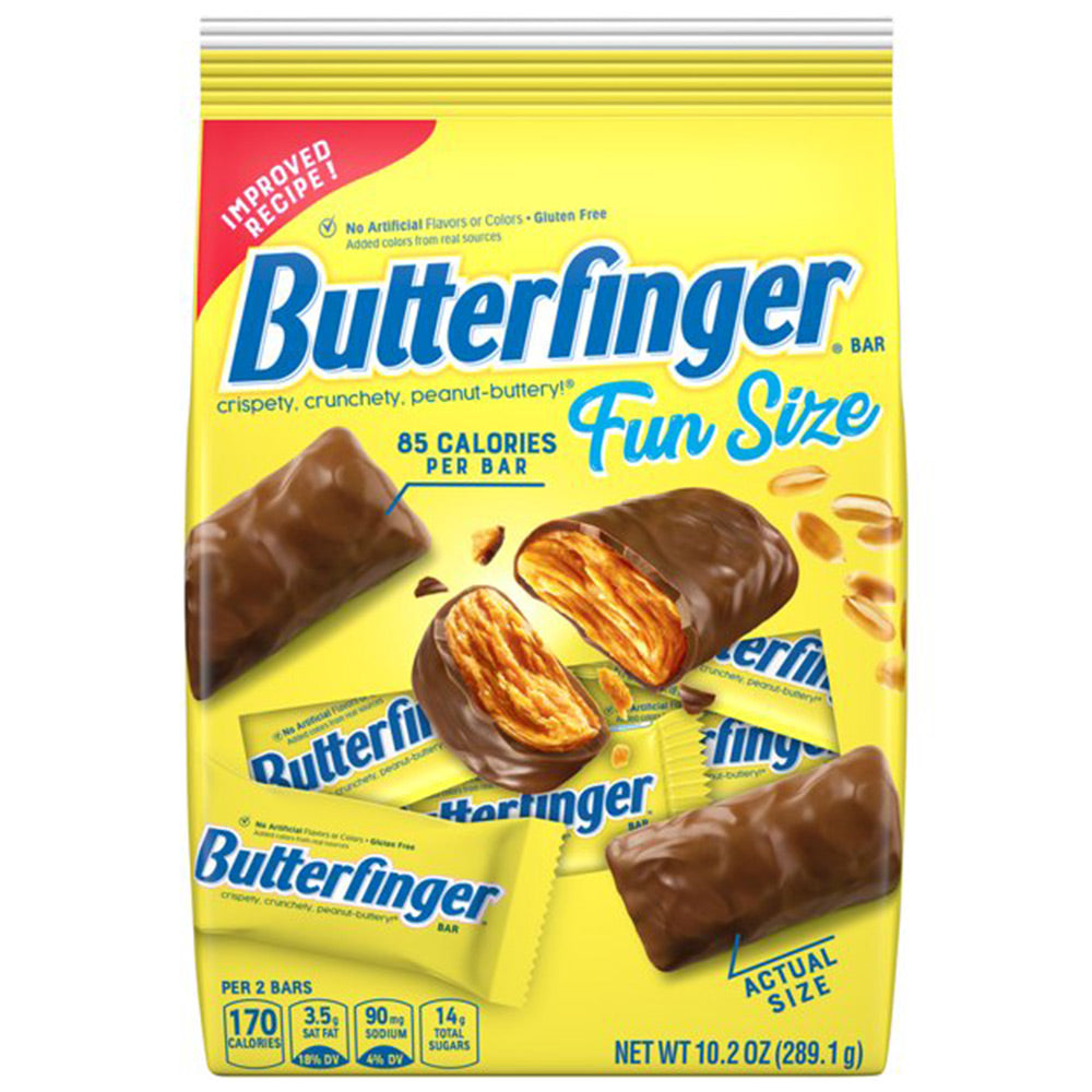 Butterfinger Fun Size Chocolate Candy Bars, 10.2oz
