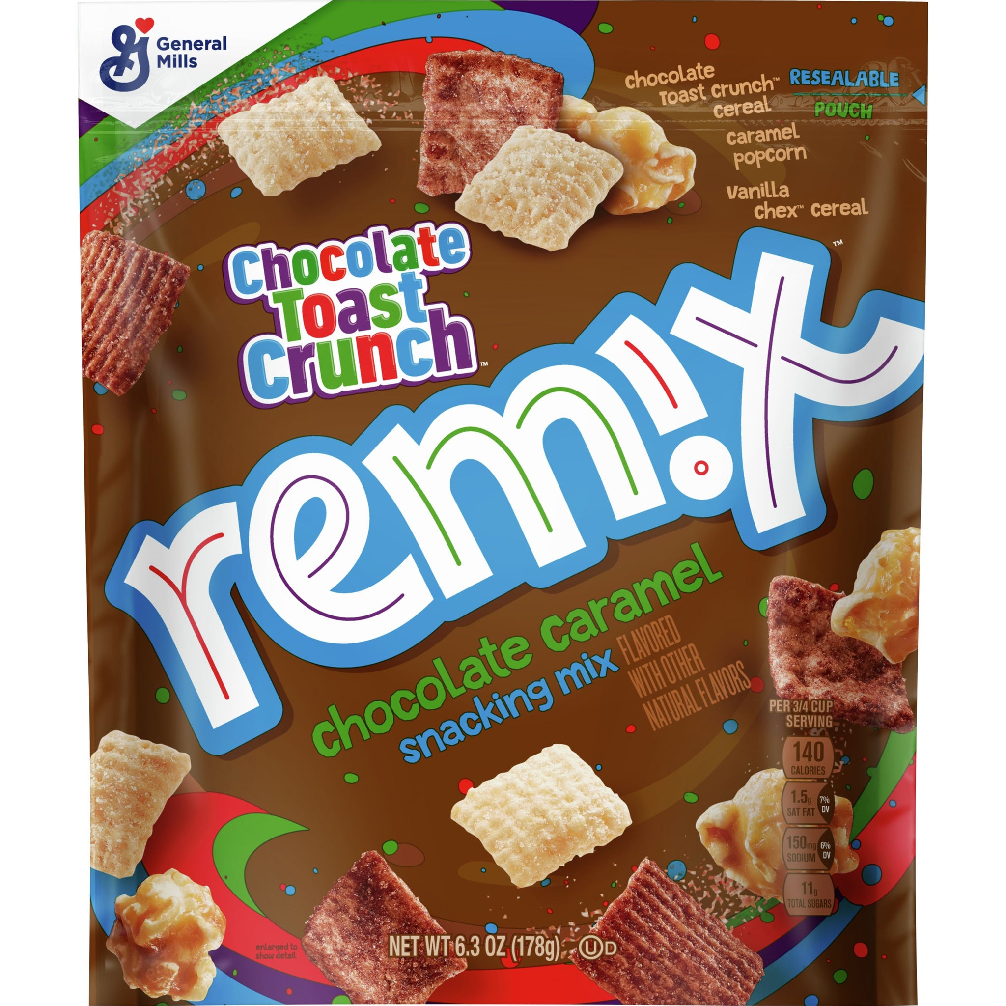 Chocolate Toast Crunch Remix, Chocolate Caramel , 6.3oz