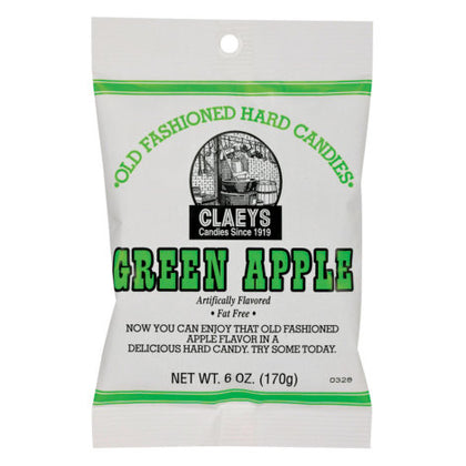 Claey's Green Apple Old Fashioned Hard Candy, 6oz