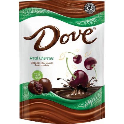 Dove Dark Chocolate Covered Whole Cherries, 6oz