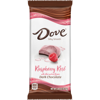 Dove Dark Chocolate Raspberry Rosé Bar, 3.3oz