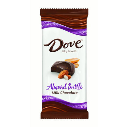 Dove Milk Chocolate Almond Brittle Bar, 3.30oz