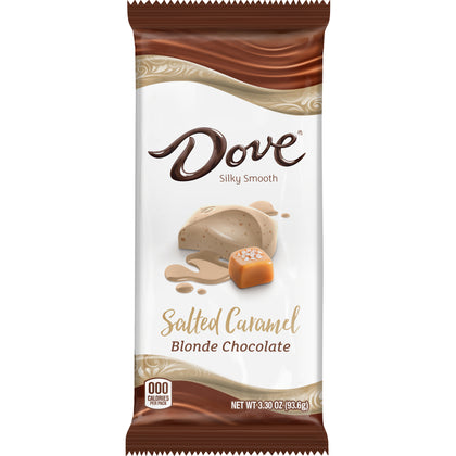 Dove Salted Caramel Blonde Chocolate Bar, 3.3oz
