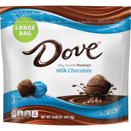 Dove Milk Chocolate Silky Smooth Promises, Large Bag, 15.8oz