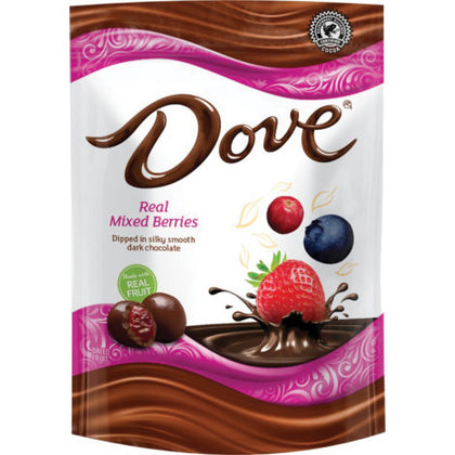 Dove Real Mixed Berries in Dark Chocolate, 17oz (1lb, 1oz)