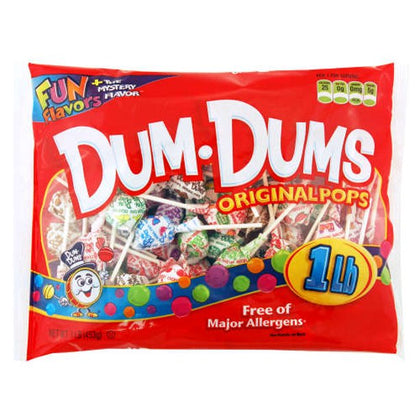 Dum-Dum Original Pops, 16oz