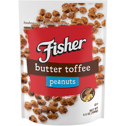 Fisher Butter Toffee Peanuts, 5.5 oz