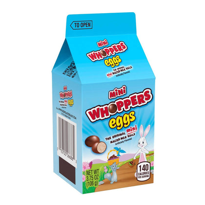 Whopper Mini Easter Eggs Carton, 3.75oz