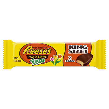 Reese's Peanut Butter Easter Egg King Size, 2.4oz/2ct