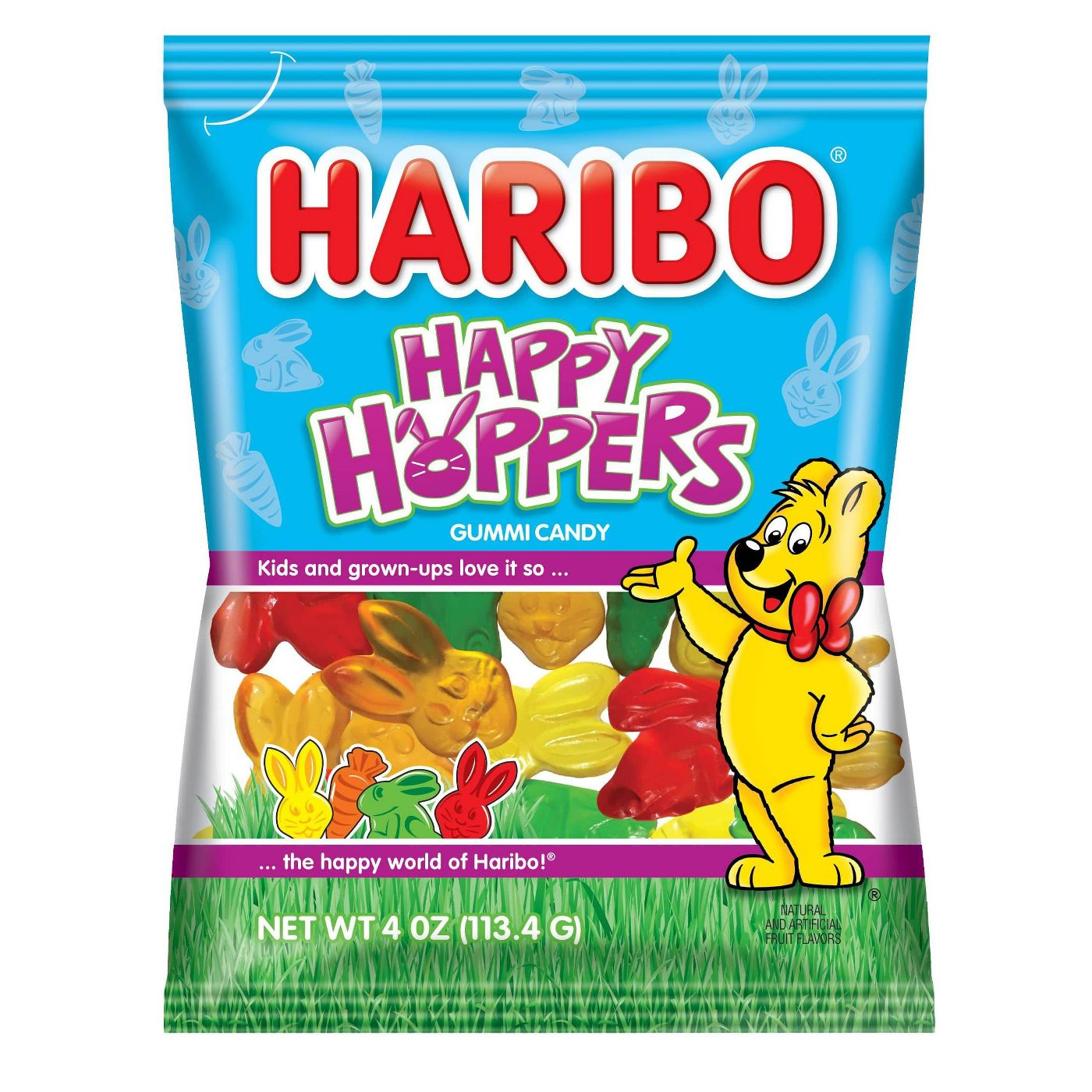Haribo Easter Happy Hoppers Gummy Candy, 4oz