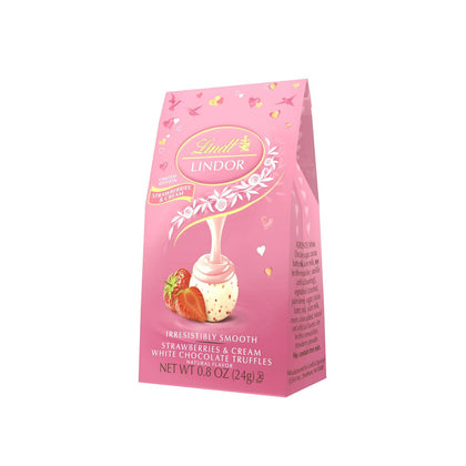 Lindt Lindor Strawberries and Cream Bag Limited Edition, 0.8oz