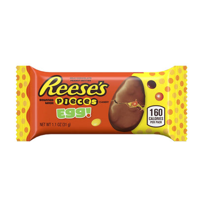 Pack of 3, Reese's Easter Egg with Pieces, Single, 1.1oz