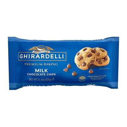Ghirardelli Milk Chocolate Chips, 11.5oz