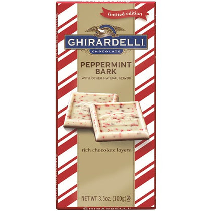 Ghirardelli Peppermint Bark Bar, 3.5oz