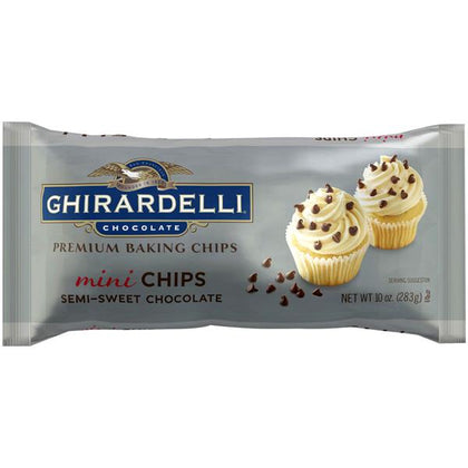 Ghirardelli Semi-Sweet Chocolate Mini Chips, 10oz