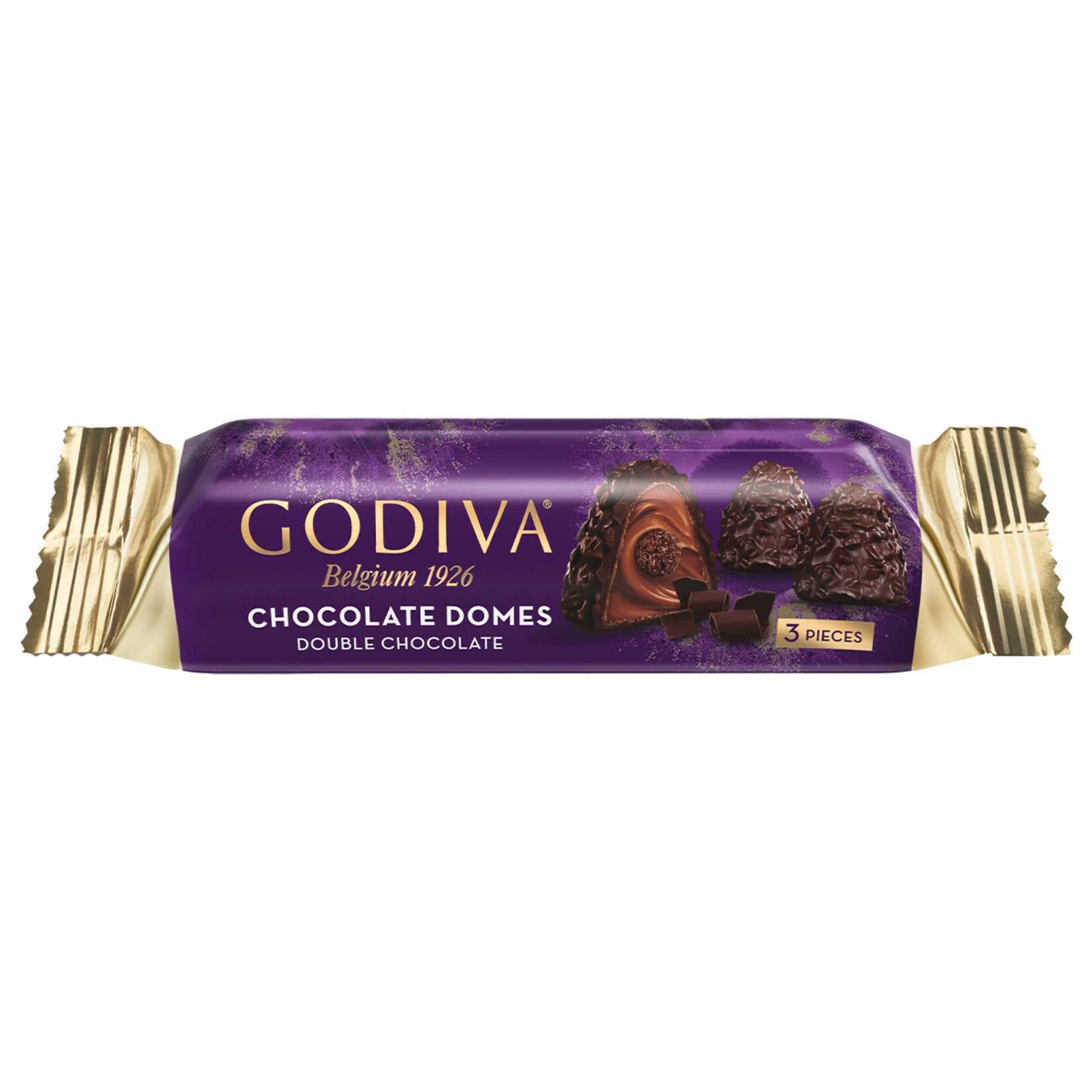 Godiva Chocolate Domes Double Chocolate, 1.1oz