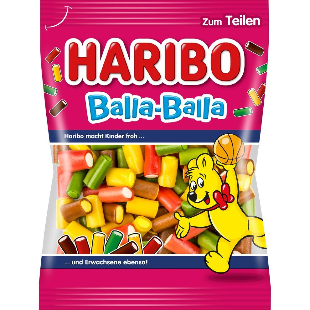 Haribo Balla-Balla, 175g (Product of Germany)