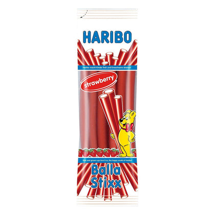 Haribo Balla Stix Strawberry Flavor, 7oz (Product of Spain)