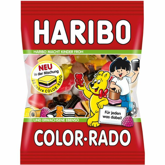 Haribo Color-Rado, 200g (Product of Germany)